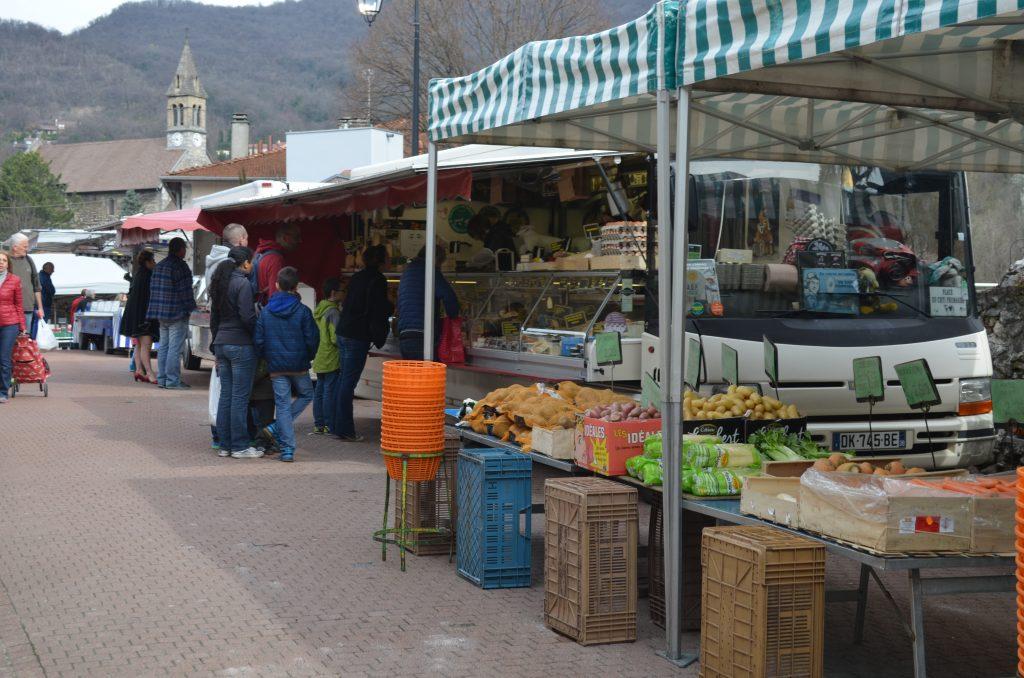marché du Fontanil-Cornillon