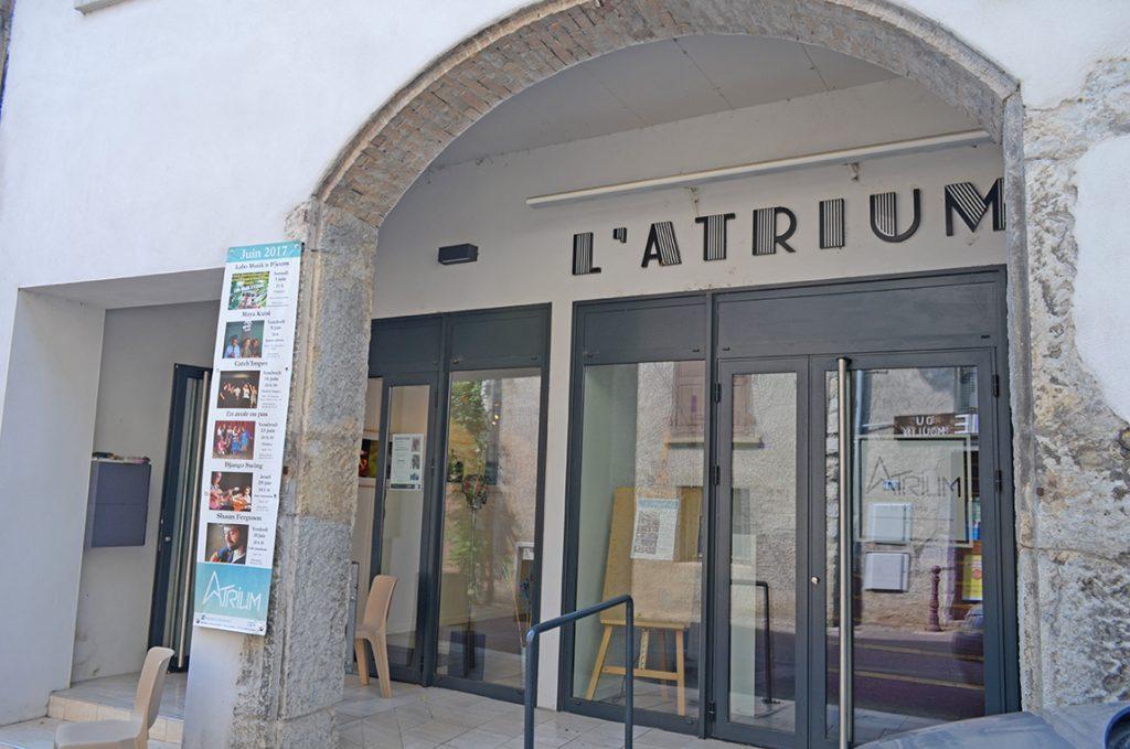 atrium entrée